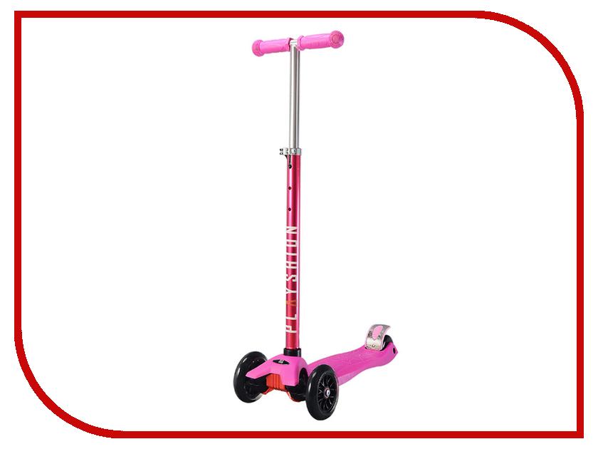 Самокат Playshion Maxi Kids Pink скейт playshion diamond 22 violet pl ps001 v