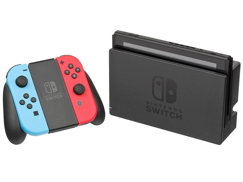 лучшая цена Игровая приставка Nintendo Switch Red-Blue
