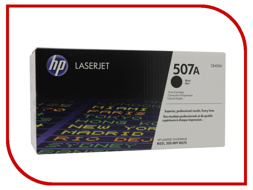 Картридж HP 507A LaserJet CE400A Black hp ce400a 507a black