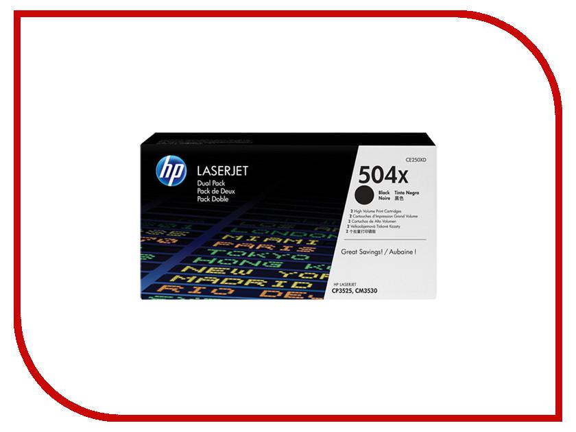 Картридж HP 504X LaserJet CE250XD Black hp 504x