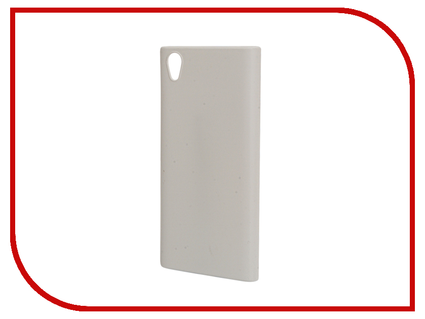 Аксессуар Чехол Sony Xperia L1 BROSCO White L1-4SIDE-ST-WHITE