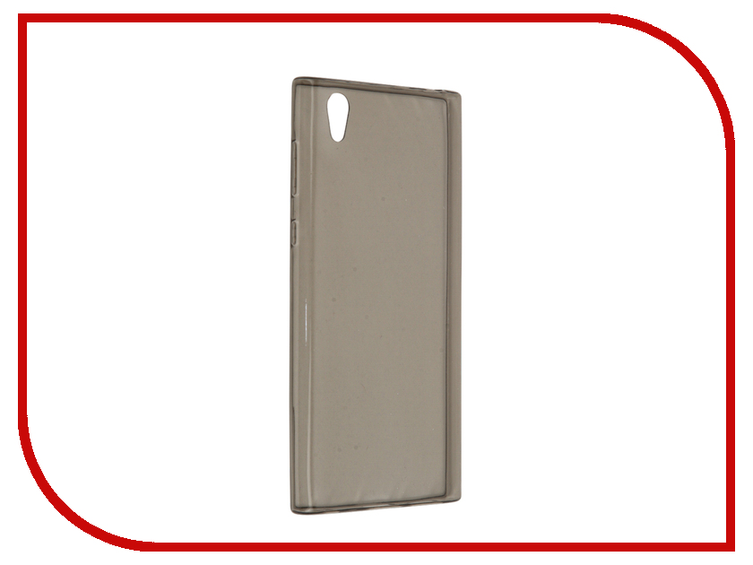 Аксессуар Чехол Sony Xperia L1 BROSCO Silicone Black L1-TPU-BLACK аксессуар чехол htc u ultra brosco black htc uu book black
