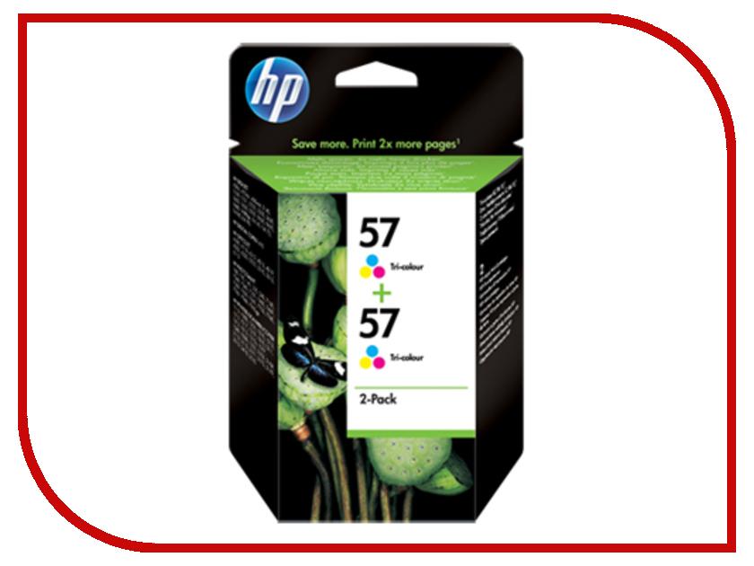 Картридж HP 57 C9503AE Tri-colour картридж hp 121 cn637he 2 pack black tri color для f4200