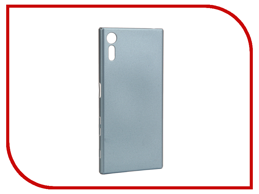 Аксессуар Чехол Sony Xperia XZs BROSCO Light Blue XZS-4SIDE-ST-ICEBLUE аксессуар чехол sony xperia xzs brosco pu black xzs book iceblue