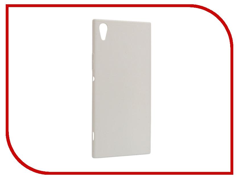 Аксессуар Чехол Sony Xperia XA1 Ultra BROSCO White XA1U-4SIDE-ST-WHITE аксессуар чехол sony xperia xa1 ultra brosco pink xa1u 4side st pink