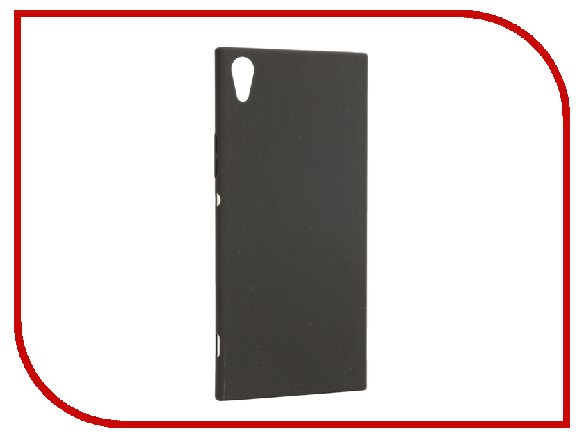 Аксессуар Чехол Sony Xperia XA1 Ultra BROSCO Black XA1U-4SIDE-ST-BLACK аксессуар чехол htc u ultra brosco black htc uu book black