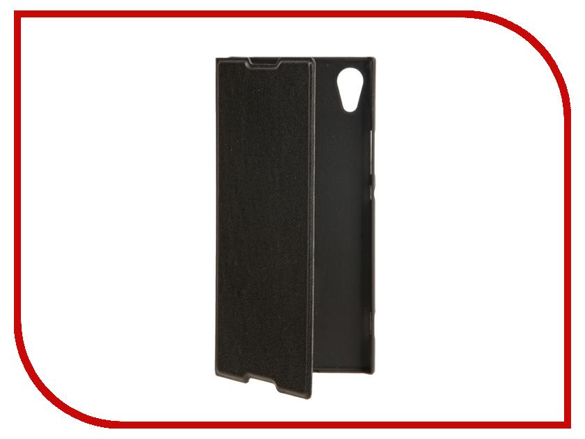 Аксессуар Чехол Sony Xperia XA1 BROSCO PU Black XA1-BOOK-BLACK аксессуар чехол sony xperia xa1 brosco pink xa1 4side st pink