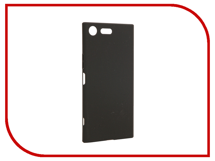 Аксессуар Чехол Sony Xperia XZ Premium BROSCO Black XZP-4SIDE-ST-BLACK аксессуар чехол sony xperia xa1 ultra brosco black xa1u 4side st black