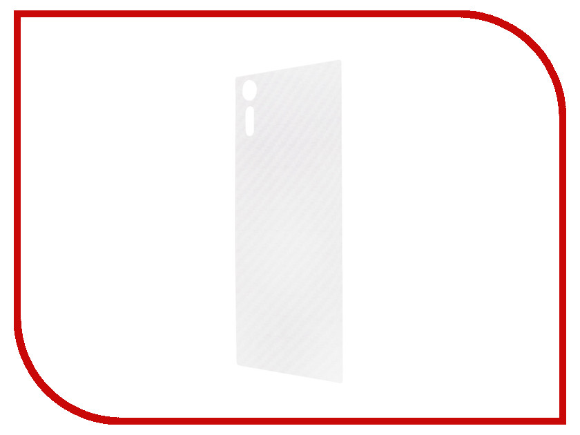 Аксессуар Защитная пленка Sony Xperia XZs BROSCO Carbon задняя XZS-SP-BACK-CARBON пленка на заднюю часть brosco пленка задняя карбон