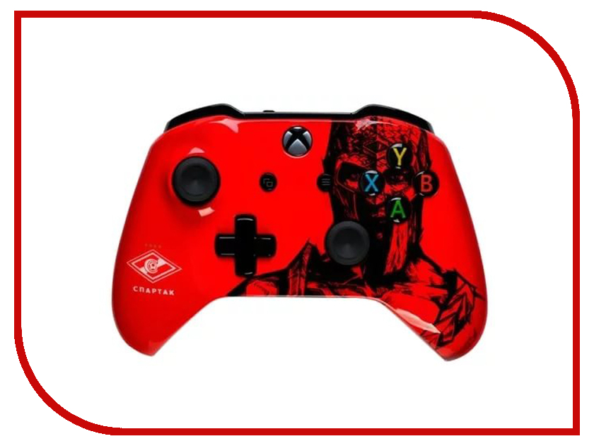 Геймпад Microsoft XBOX One Wireless Controller ФК Спартак Гладиатор 6CL-00002(GL)