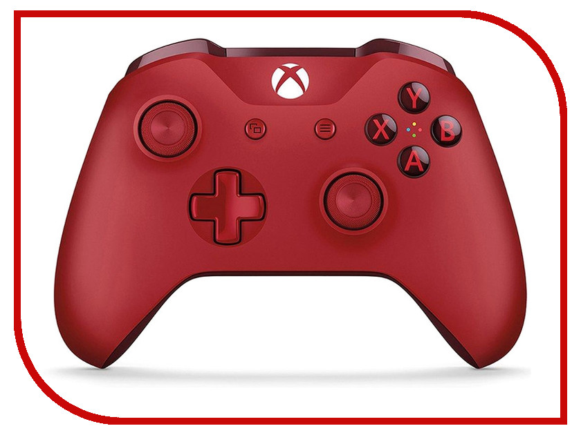 Геймпад Microsoft XBOX One Wireless Controller Red WL3-00028 цена 2017