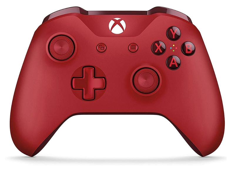 Геймпад Microsoft XBOX One Wireless Controller Red WL3-00028 цена и фото
