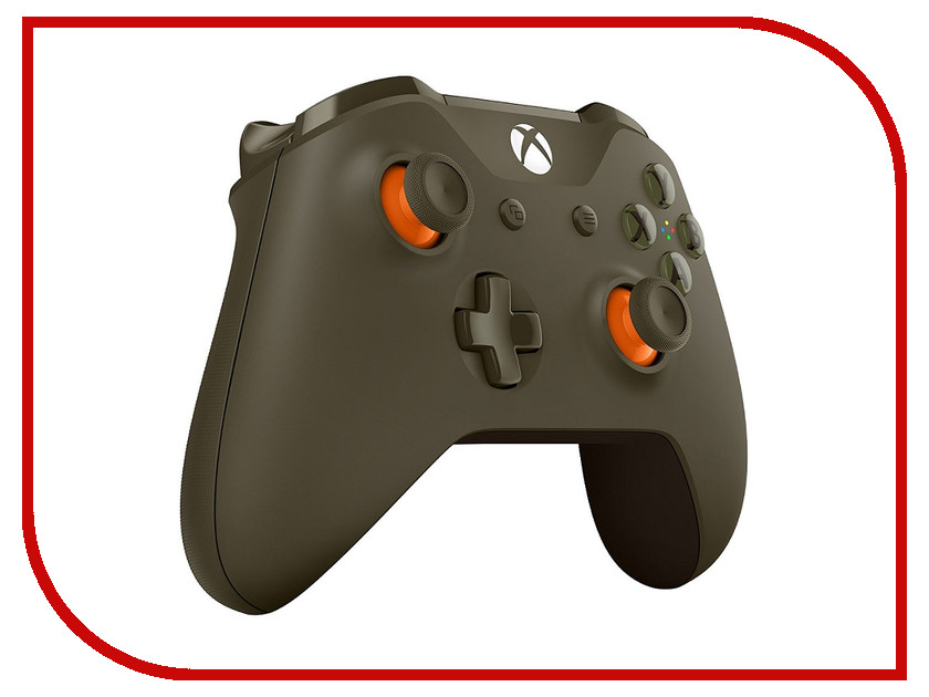 Аксессуар Геймпад Microsoft XBOX One Wireless Controller Green WL3-00036