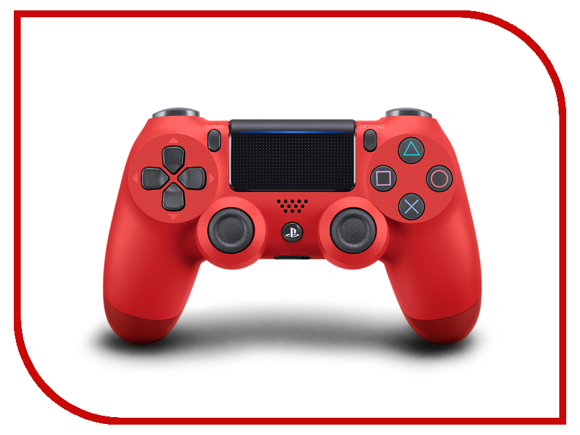 Геймпад Sony DualShock 4 V2 Red PS719894353