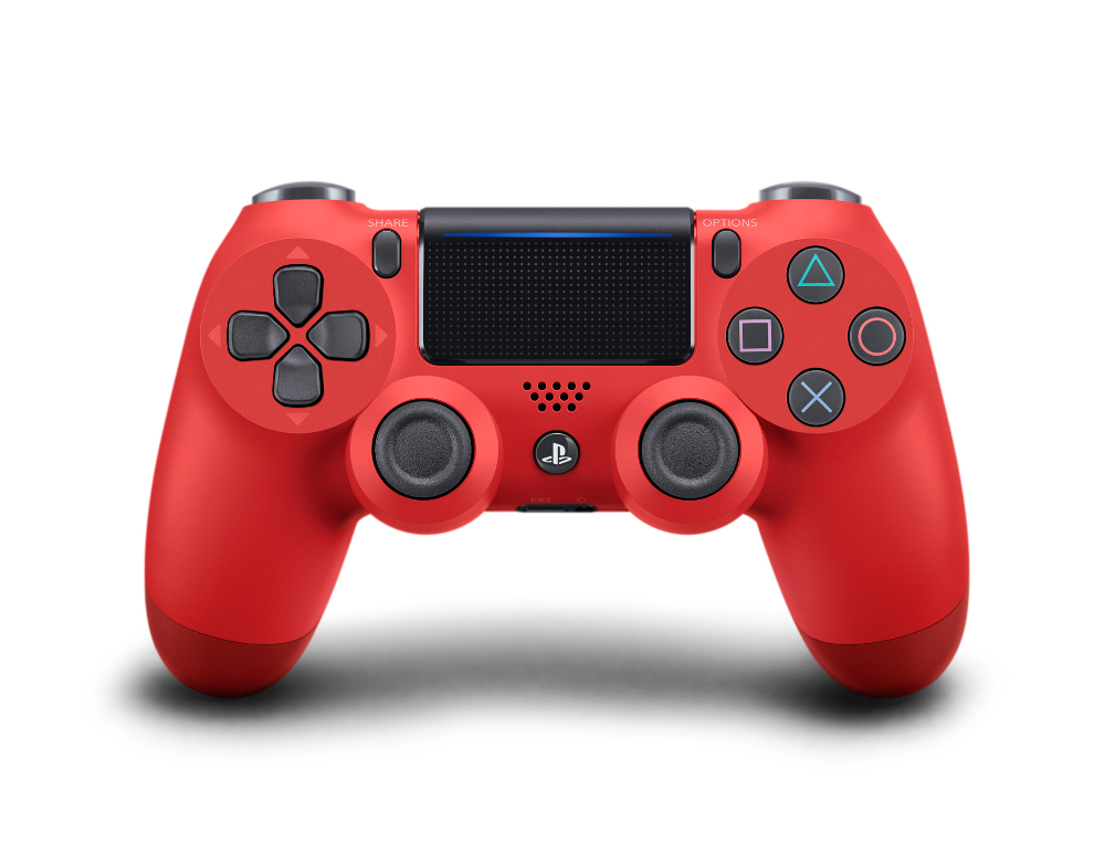 Sony DualShock 4 v2 (CUH-ZCT2E) Red PS719894353