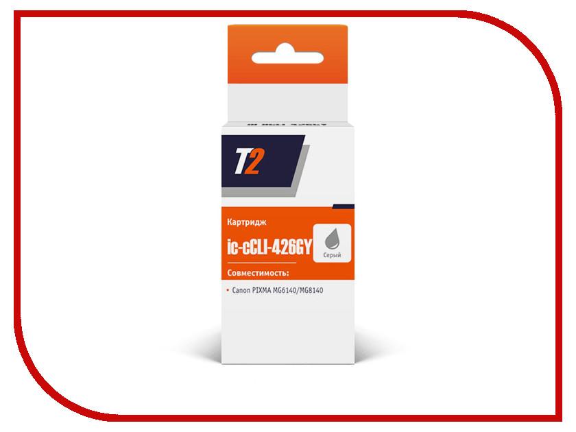 Картридж T2 IC-CCLI-426GY для Canon PIXMA MG6140/MG6240/MG8140/MG8240 Grey с чипом картридж t2 ic cli 426c cyan с чипом