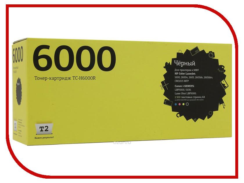 Картридж T2 TC-H6000R Black с чипом картридж t2 для hp tc h85a laserjet p1102 1102w pro m1132 m1212nf m1214nfh canon i sensys lbp6000 cartrige 725 1600 стр с чипом