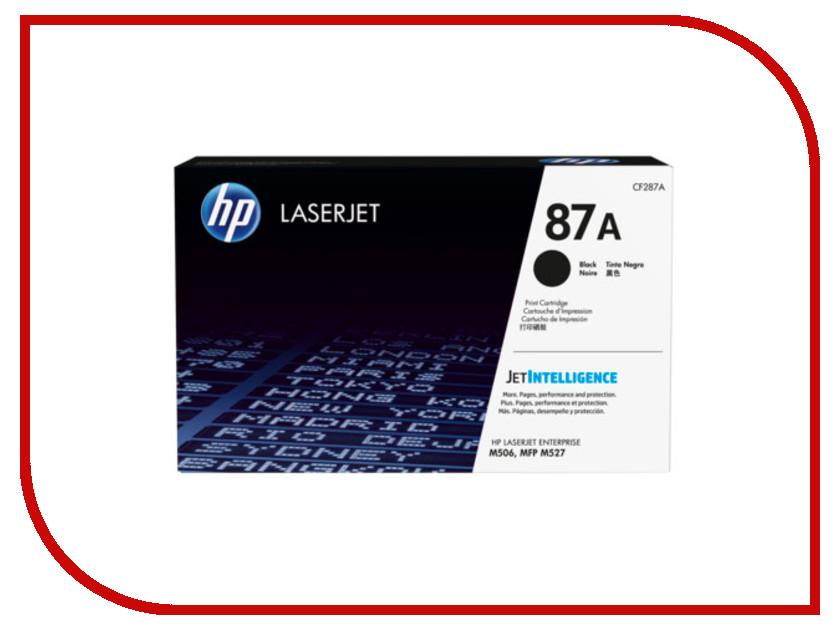 Картридж HP 87A CF287A Black hewlett packard hp лазерный мфу печать копирование сканирование