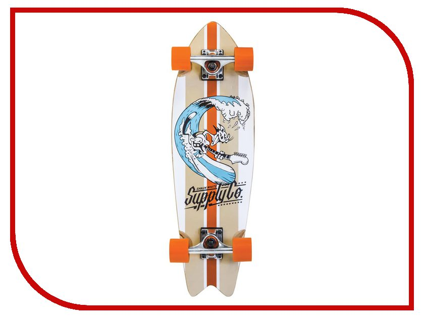 Скейт Ecos Shaun White 4690408098660 скейтборд shaun white 5 channel 31 5х8 abec 5