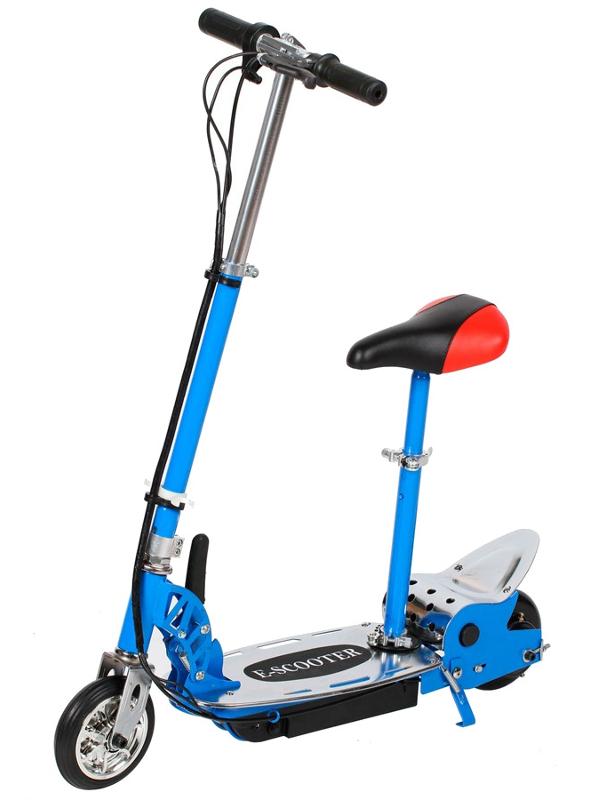 Электросамокат Tanko T8 Blue с сиденьем
