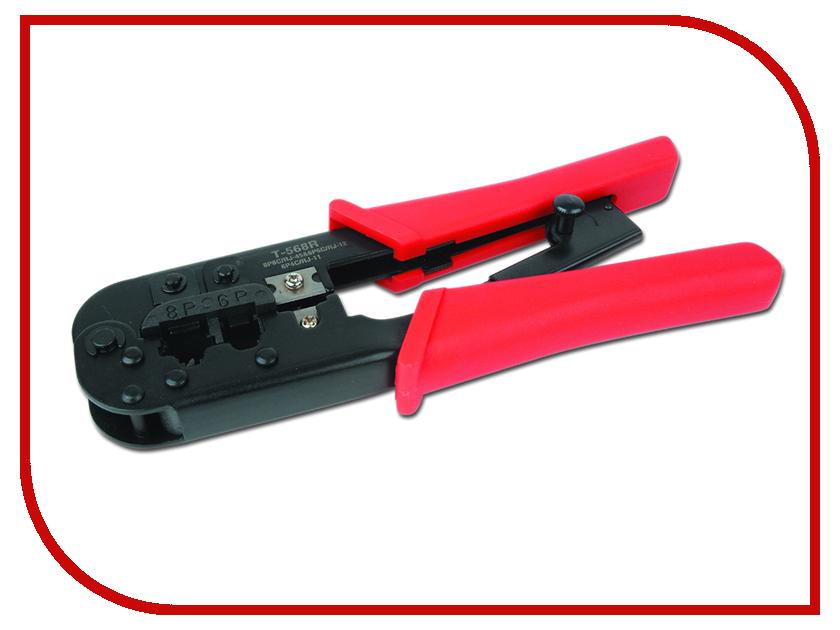 Клещи обжимные Gembird Cablexpert T-568R токовые клещи uni t ut204a