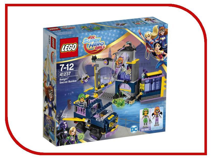 Конструктор Lego DC Super Hero Girls Секретный бункер Бэтгёрл 41237 велосипед navigator super hero girls 18 разноцветный двухколёсный