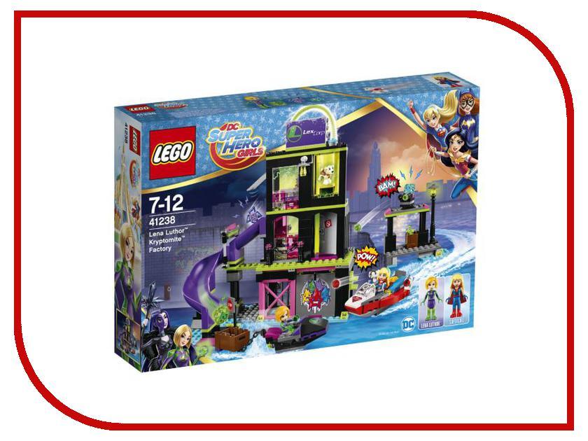 Конструктор Lego DC Super Hero Girls Фабрика Криптомитов Лены Лютор 41238 конструктор lego super hero girls харли квинн спешит на помощь 217 элементов 41231