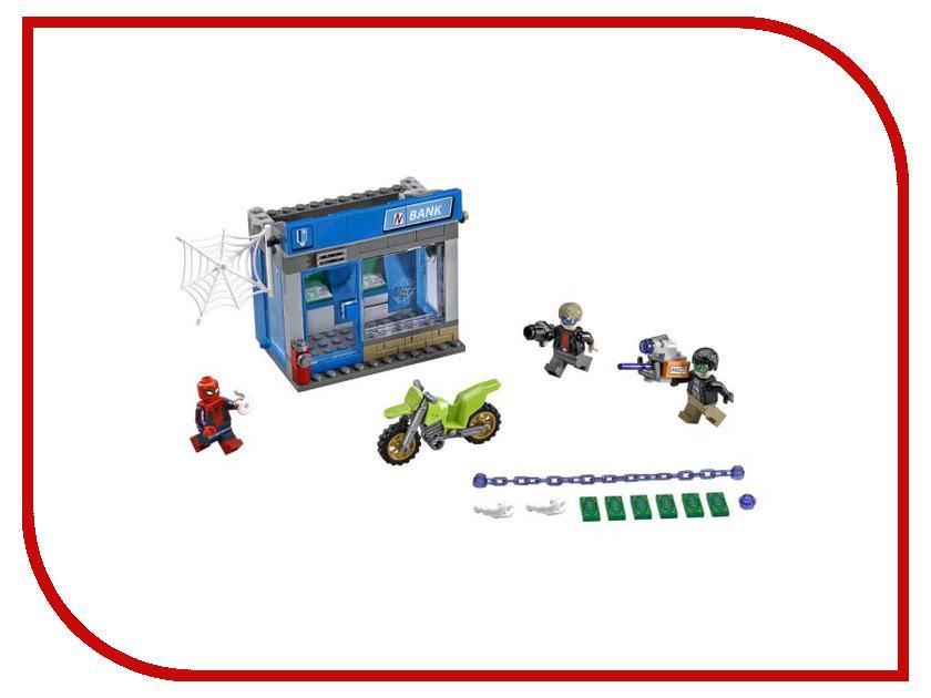 Конструктор Lego Super Heroes Ограбление банкомата 76082 конструктор lego marvel super heroes реактивный самолёт мстителей 76049