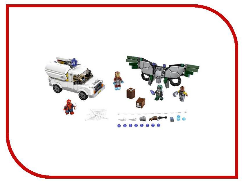 Конструктор Lego Super Heroes Берегись Стервятника 76083 конструктор lego marvel super heroes реактивный самолёт мстителей 76049