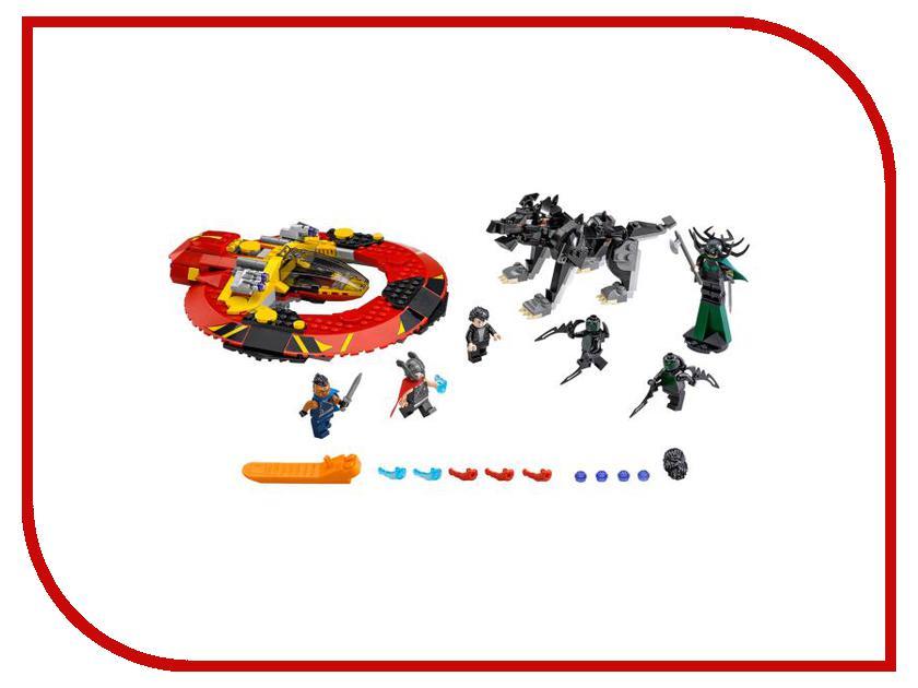 Конструктор Lego Super Heroes Решающая битва за Асгард 76084
