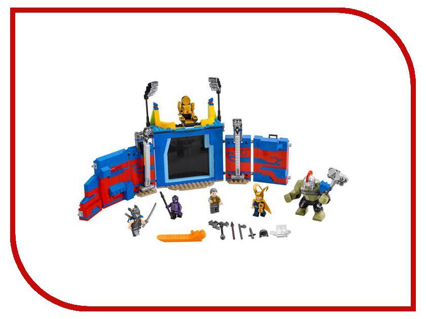 Конструктор Lego Super Heroes Тор против Халка Бой на арене 76088 конструктор lego super heroes росомаха против магнето 76073