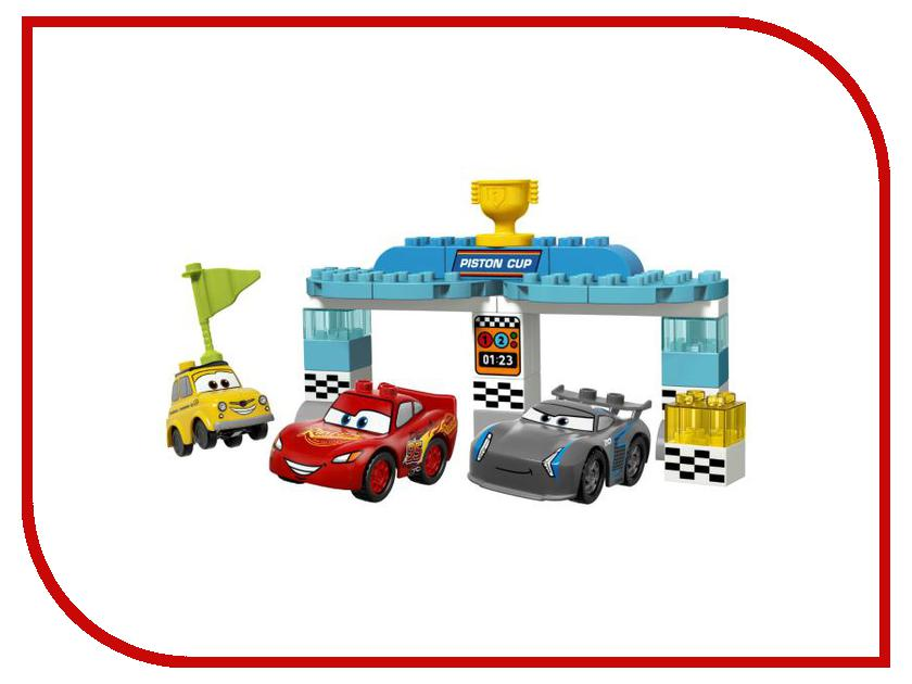 Конструктор Lego Duplo IP New Гонка за Кубок Поршня 10857