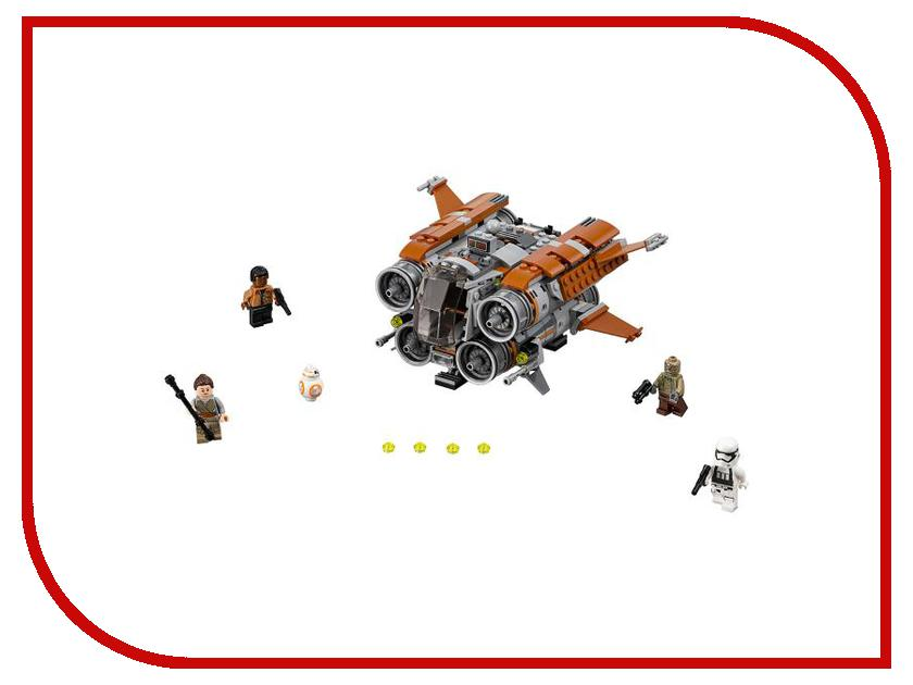 Конструктор Lego Star Wars Квадджампер Джакку 75178 конструктор lego star wars звездные войны столкновение на джакку