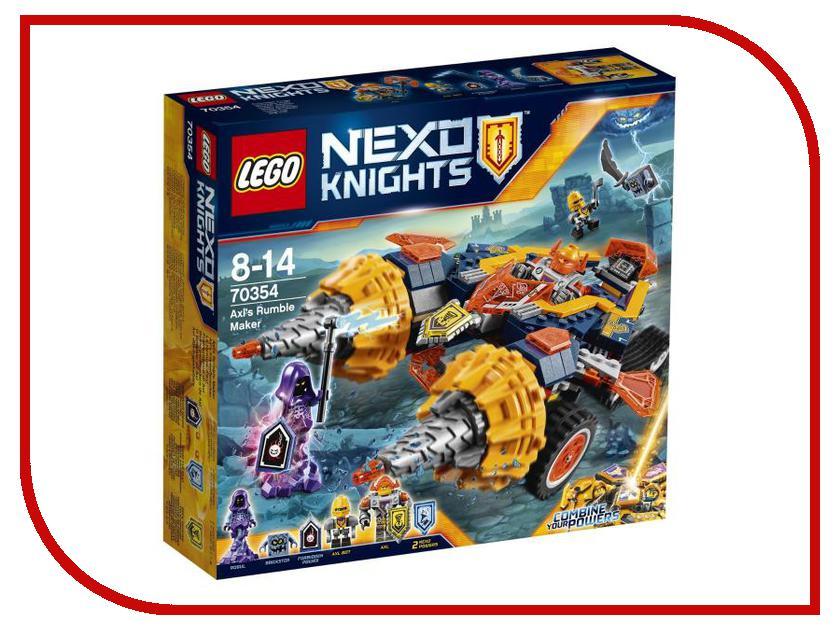 Конструктор Lego Nexo Knights Бур-машина Акселя 70354 lego knights купить
