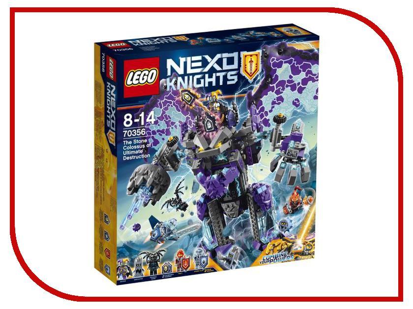 Конструктор Lego Nexo Knights Каменный великан-разрушитель 70356 lego knights купить