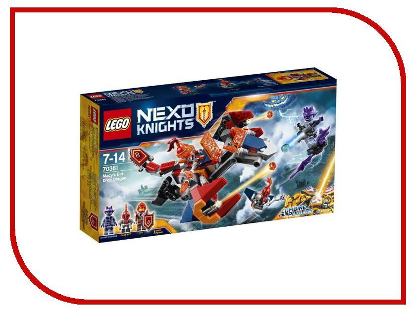Конструктор Lego Nexo Knights Дракон Мэйси 70361 тетради lego тетрадь 100 листов линейка lego nexo knights рыцари нексо размер 19х24 7 см