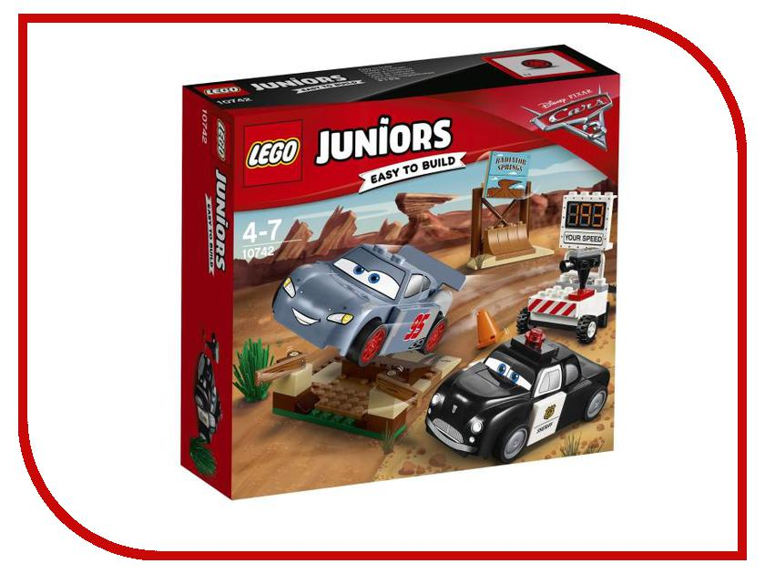 Конструктор Lego Juniors Тренировочный полигон Вилли Бутта 10742 lego juniors конструктор финальная гонка флорида 500 10745