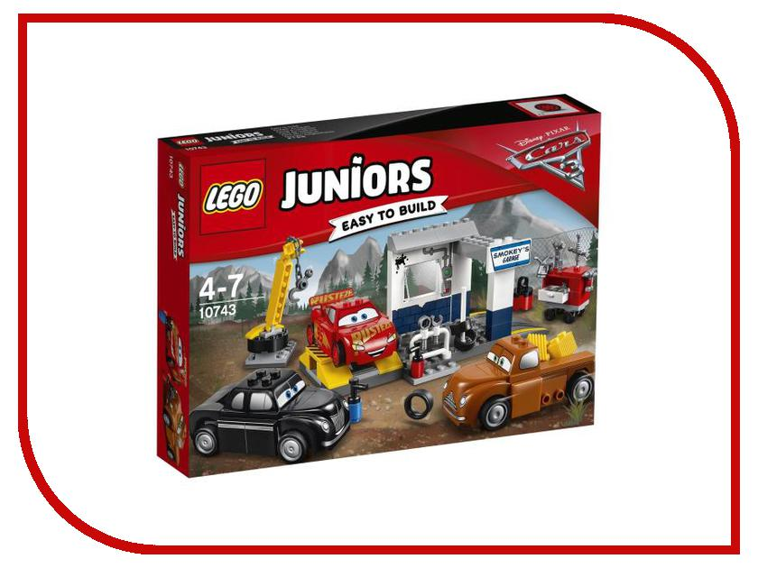 Конструктор Lego Juniors Гараж Смоуки 10743 lego juniors конструктор финальная гонка флорида 500 10745