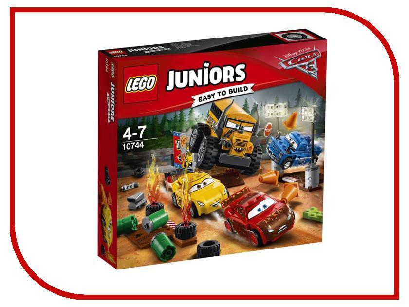 Конструктор Lego Juniors Сумасшедшая восьмерка 10744 lego juniors конструктор финальная гонка флорида 500 10745
