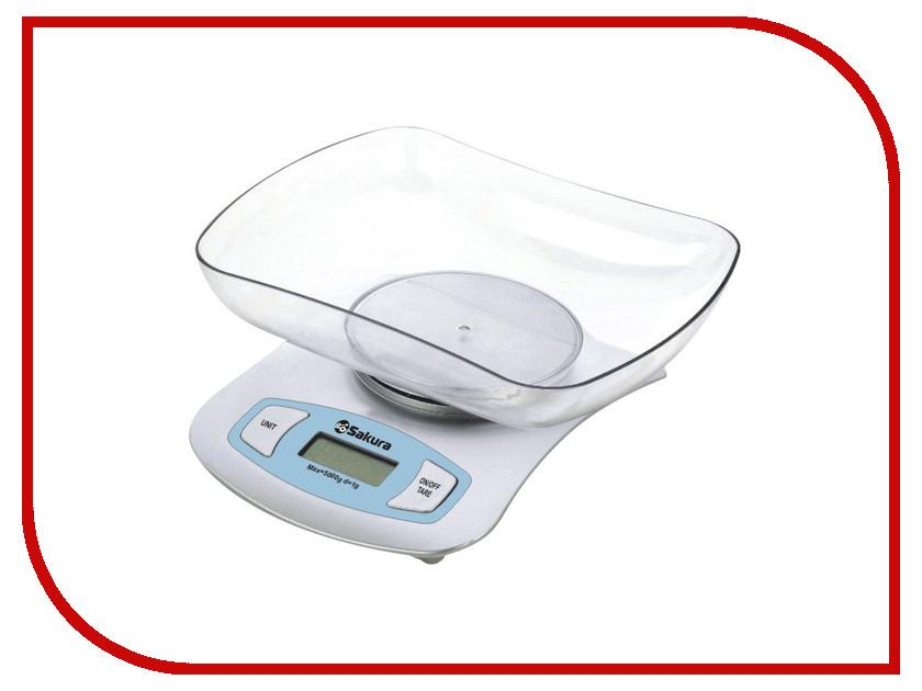 Весы Sakura SA-6052S Silver