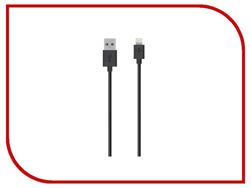 Аксессуар Belkin Lightning to USB Cable 3m Black F8J023BT3MBLKTS belkin wemo