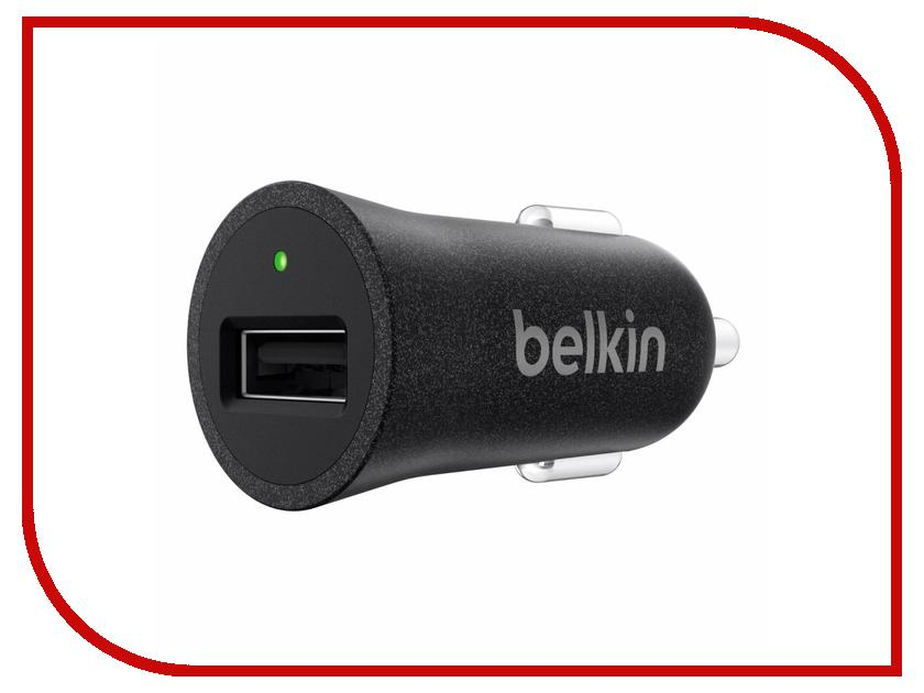 Зарядное устройство Belkin Car MicroCharger F8M730BTBLK Black belkin wemo