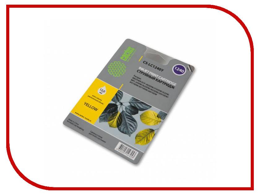 Картридж Cactus Yellow для MFC-J6510/6910DW cactus cs tn8000 black тонер картридж для brother hl 720 730 730 730dx 760 760