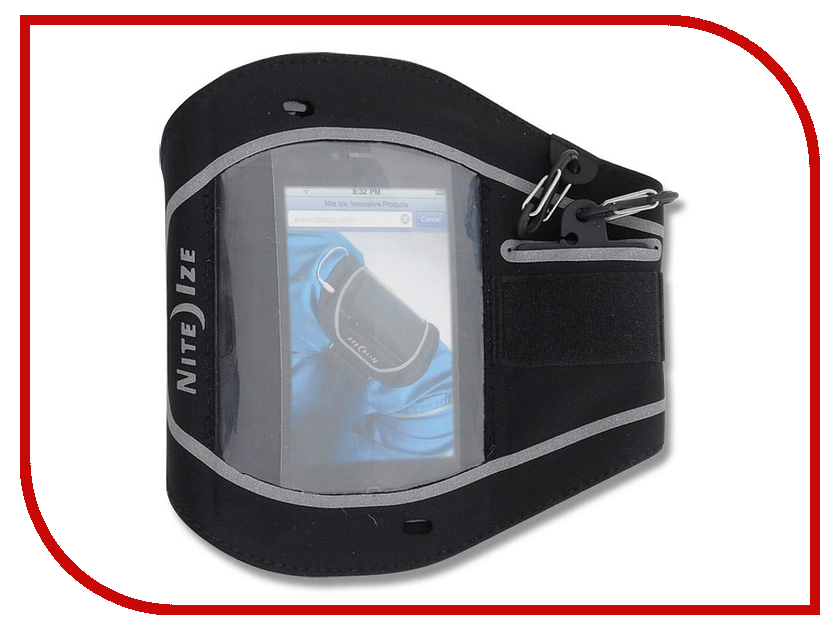 Аксессуар Чехол Nite Ize Action Armband M NIPB-08-01 брелок nite ize keyband it kwb 03 r6 blue
