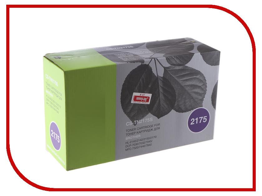Картридж Cactus Black для HL-2140/2150/2170 cactus cs tn1075 black тонер картридж для brother hl 1110 1112 1510 1512 1810 1815