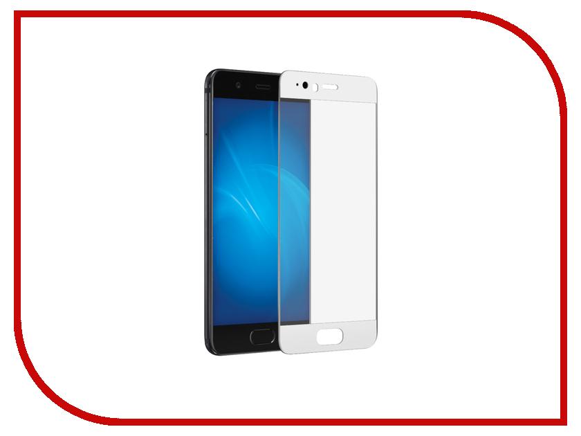 Аксессуар Закаленное стекло Huawei P10 Lite DF Full Screen hwColor-12 White аксессуар закаленное стекло zte blade v7 lite df zsteel 19