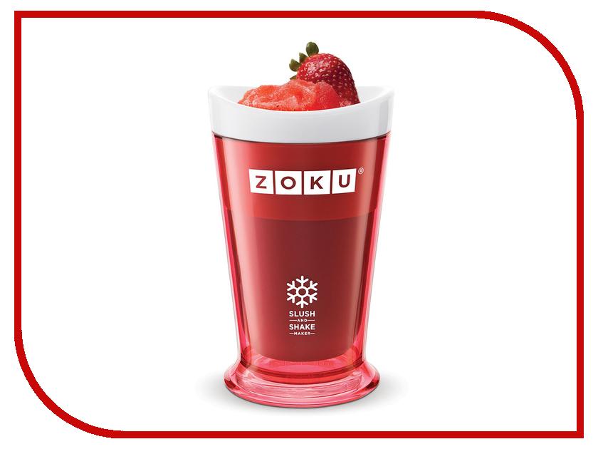 Форма для холодных десертов Zoku Slush & Shake Red ZK113-RD