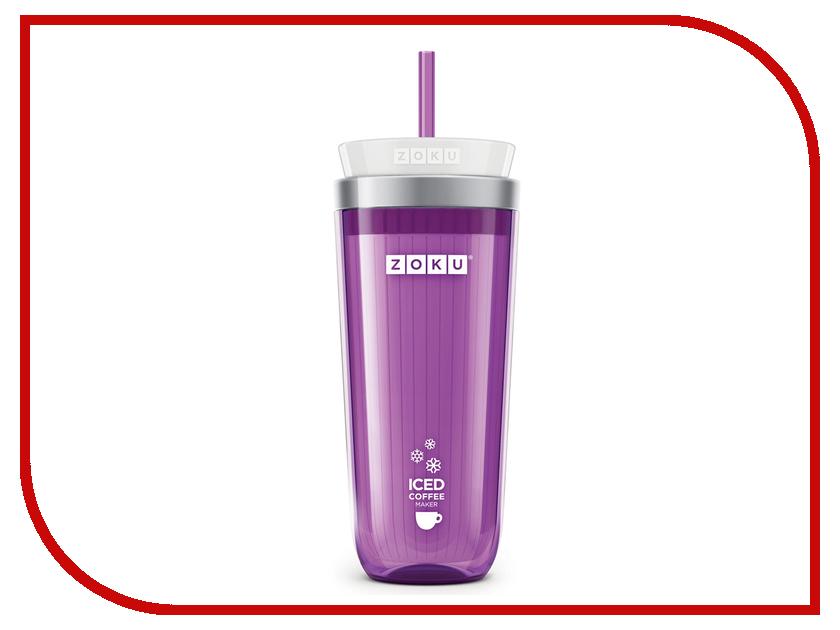 Стакан для охлаждения напитков фиолетовый Zoku ZK121-PU
