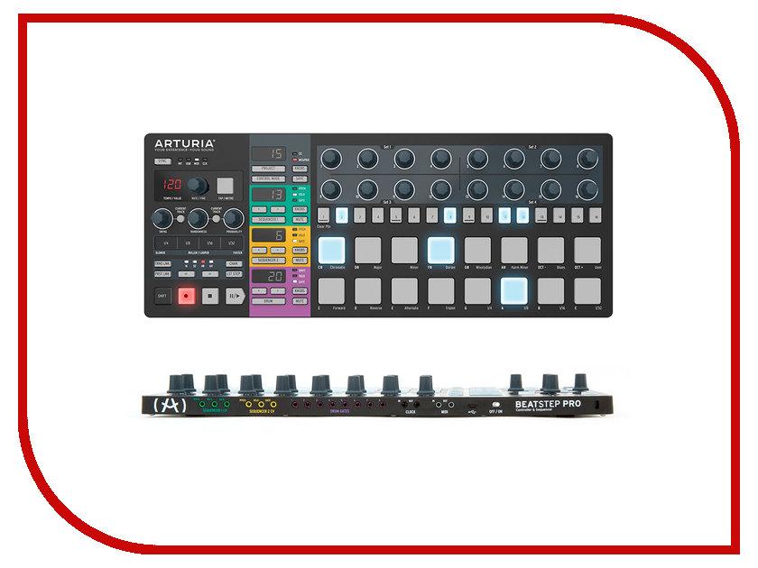 MIDI-клавиатура Arturia BeatStep Pro Black Edition цена и фото