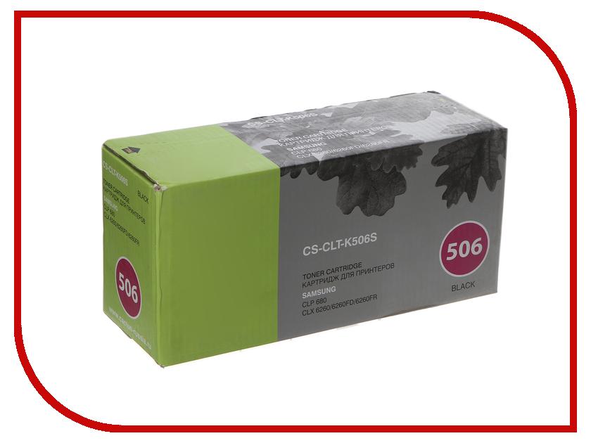 Картридж Cactus Black для CLP 680 CLX6260/6260FD/6260FR картридж для принтера cactus cs clt k504s black